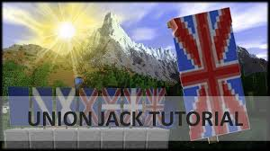 Christian Banner Flags How To Make A Union Jack Banner Minecraft 1 8 Tutorial Youtube