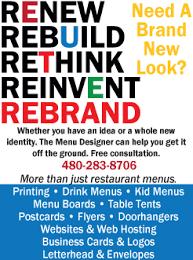 restaurant menus and menus