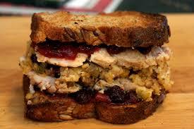 thanksgiving bacon thanksgiving sandwich snacko backo