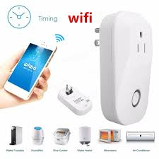 wifi smart power socket wireless timer switch outlet us plug home