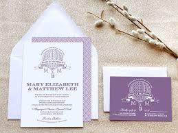 air balloon wedding invitations steampunk wedding