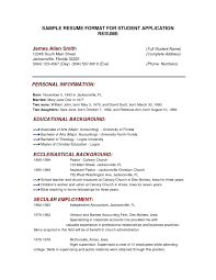 the resume format how to create a resume for application best of application