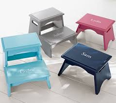 personalized step stools pottery barn
