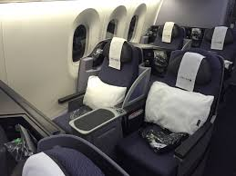United Airlines Change Flight by Great Flight On United Airlines 787 9 Business Class Live And