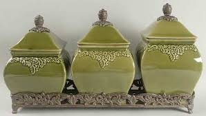 green canister sets kitchen simple 25 green kitchen canister set design decoration of kitchen