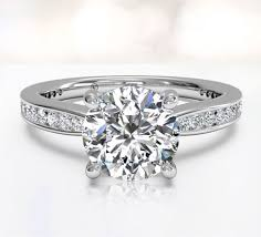 channel set engagement rings channel set engagement rings ritani