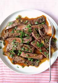 easy grilled marinated skirt steak recipe popsugar food