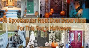 front door halloween decorations archives find fun art projects