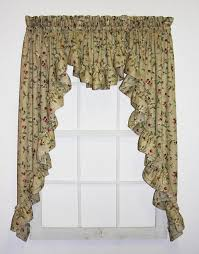 Country Style Window Curtains Country Style Curtains Window Toppers