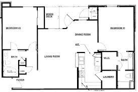 simple floor plans rectangular house floor plans home decor simple rectangular house