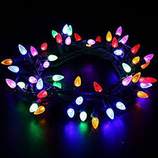 interesting inspiration colored christmas lights white