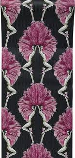 melissa wallpaper in pink showgirls wallpaper pink for the home pinterest showgirls and