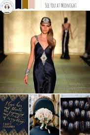 blue new years dresses new years wedding ideas in midnight blue gold chic vintage
