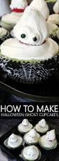 how to make halloween ghost cupcakes living la vida holoka