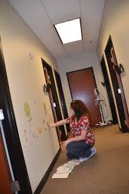 pediatric center hangs woodland tree wall stickers roommates blog darlene builds woodland animal wall sticker scene