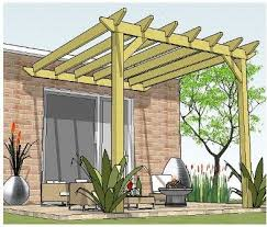 Attached Pergola Plans by Best 25 Pergola Design Plans Ideas On Pinterest Corner Patio