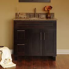 bedroom discount bathroom vanities with brown wall design and
