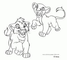 lion king 2 coloring pages intended to motivate in coloring page