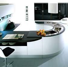 plan de travail arrondi cuisine plan de travail cuisine arrondi 12 avec en quartz blanc granitset