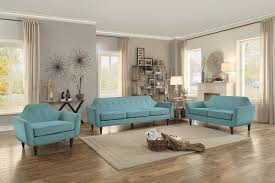 Teal Sofa Set by Homelegance Ajani Sofa Set Beige Fabric 8379be Sofa Set