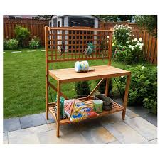 Merry Garden Potting Bench by Garden Potting Bench Patio Buffet Table Garage Workstation Storage