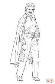 lando calrissian coloring page free printable coloring pages