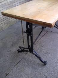 Keuffel Esser Drafting Table Vintage Cast Iron Keuffel Esser Drafting Table 533616733