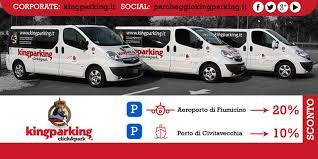 parcheggio auto porto civitavecchia convenzione kingparking parcheggi a fiumicino e civitavecchia