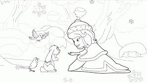 mothers coloring pages kids 15269