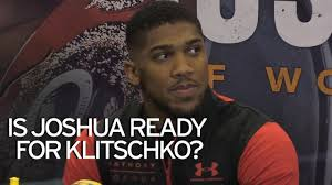 david haye tips anthony joshua to beat wladimir klitschko in super