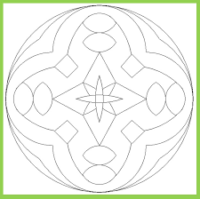 mandala colouring pages preschool free printable preschool