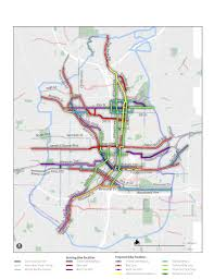 City Of Atlanta Map by Creating A Great Bike Network Map U2013 Alta Planning Design