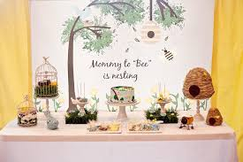 bird baby shower kara s party ideas birds and bees girl boy baby shower planning