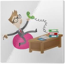 exercice au bureau papier peint affaires de bande dessinée maladroite bancale ballon d
