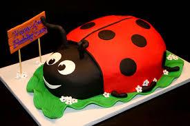ladybug birthday cake ladybug 2nd birthday cake vanilla cake vanilla buttercrea flickr