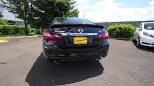 nissan altima 2018 black 2017 nissan altima 2 5 sr super black hn349603 kent