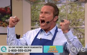 arnold schwarzenegger on the tonight wants to get to the