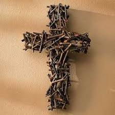 cool cross made of nuts and bolts your best