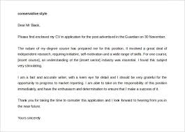effective cover letter format 9 cover letter templates u2013 free sample example format download