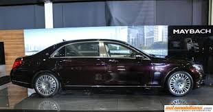 luxury mercedes maybach mercedes maybach s600 launched in india at rs 2 60 crores ex