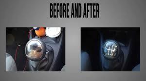 clio gear knob renovation instructions youtube