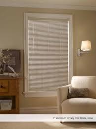 phase ii 1 u201d aluminum privacy mini blinds phase ii