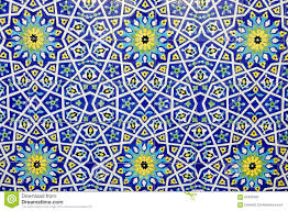 traditional moroccan tile pattern background stock photo image