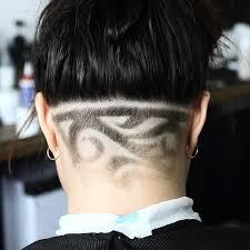 women haircut tapered neck behind ear 22 female taper haircut ideas designs hairstyles design