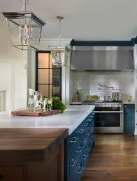 navy blue kitchen cabinet design navy blue kitchen home bunch interior design ideas