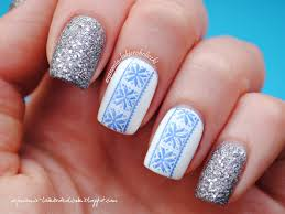 winter sweater nail art by olaa nailpolis museum of nail art