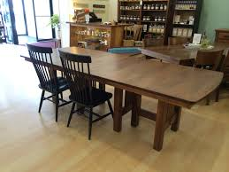 Dining Room Extension Tables by Hartford Trestle Extension Table Amish Dining Tables U2013 Amish Tables