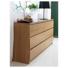 Dresser With Pull Out Desk Nightstand Breathtaking Malm Chest Of Drawers Oak Veneer Ikea
