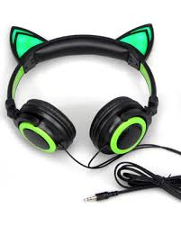 light up cat headphones memorial day bargains on jamsonic dj style light up cat ear