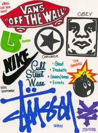 museum book katieraeng the brands displayed above include vans off the wall burton converse obey nike sportswear the hundreds stussy and zooyork